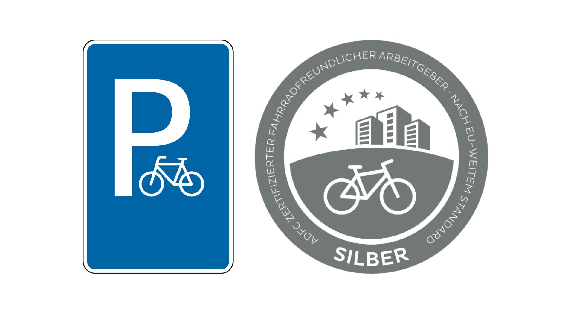 Parken Fahrräder
