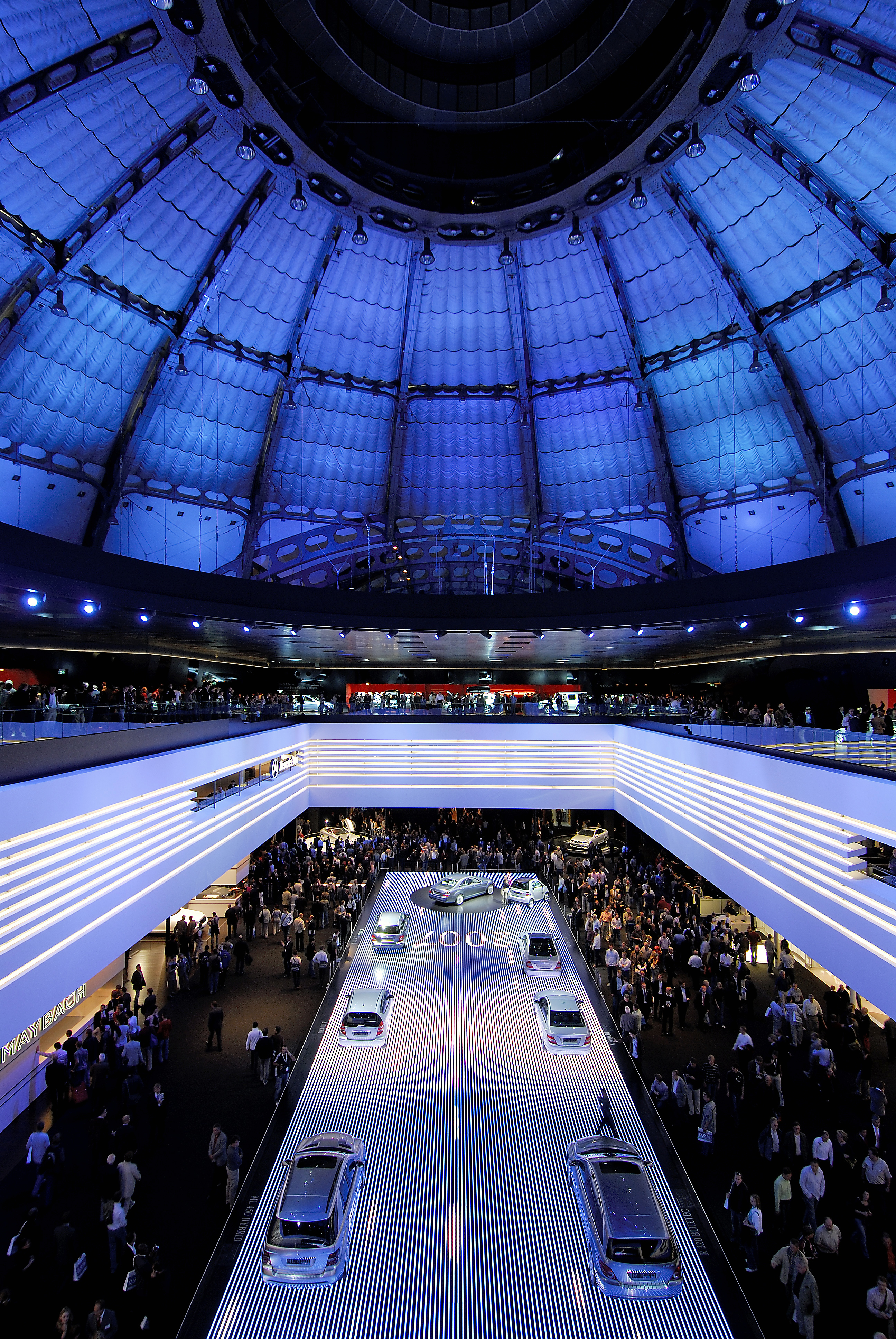 Festhalle - Interior during IAA motor show