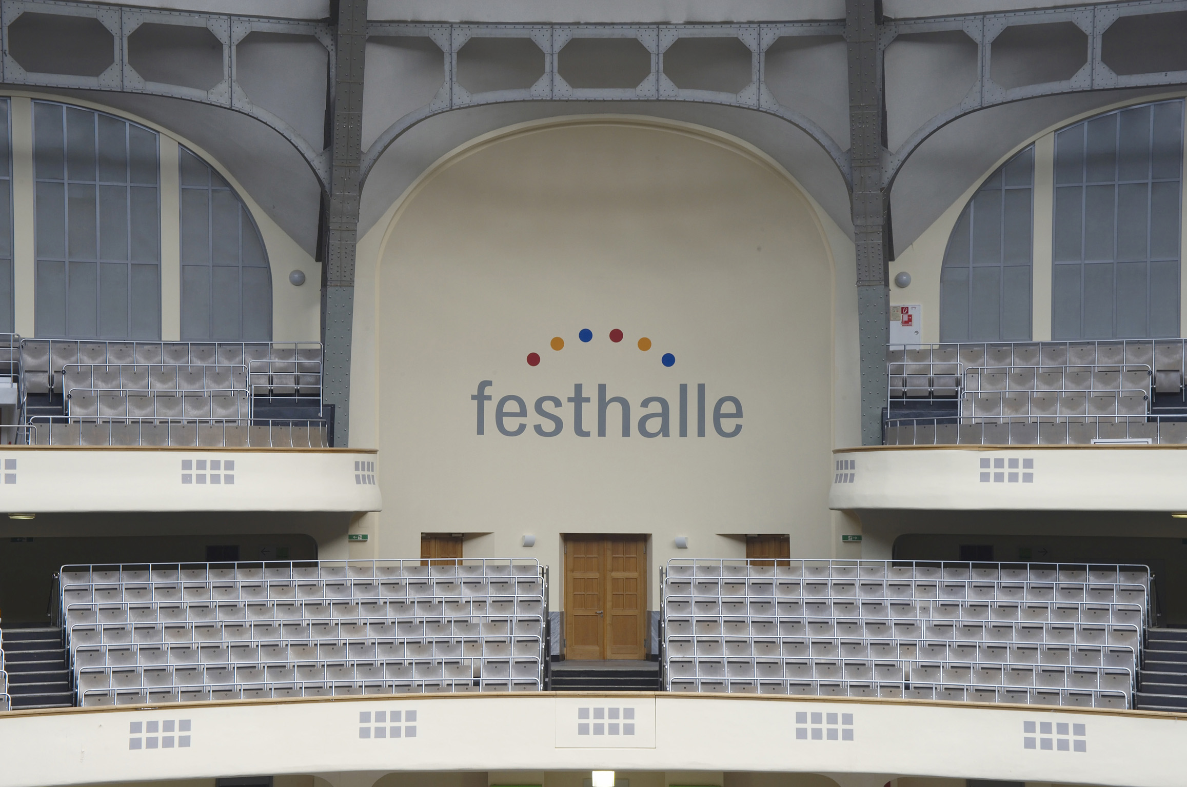 Festhalle - 1. and 2. level
