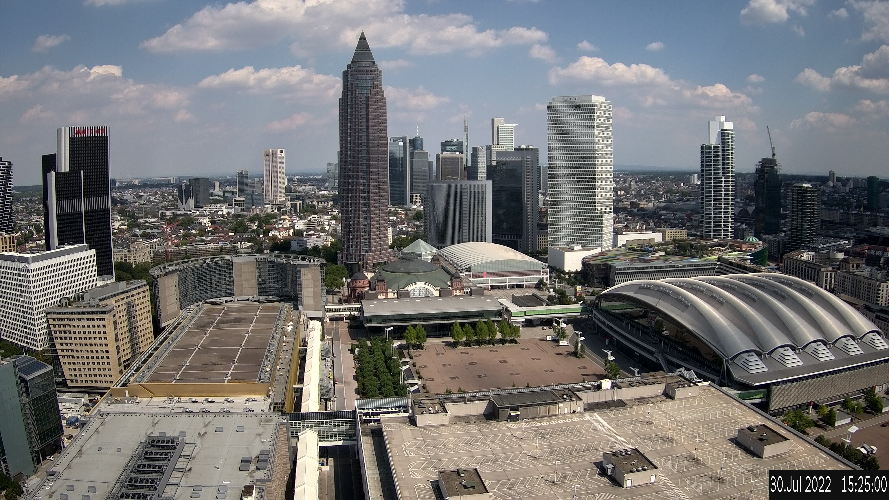 Webcam Messeturm Frankfurt