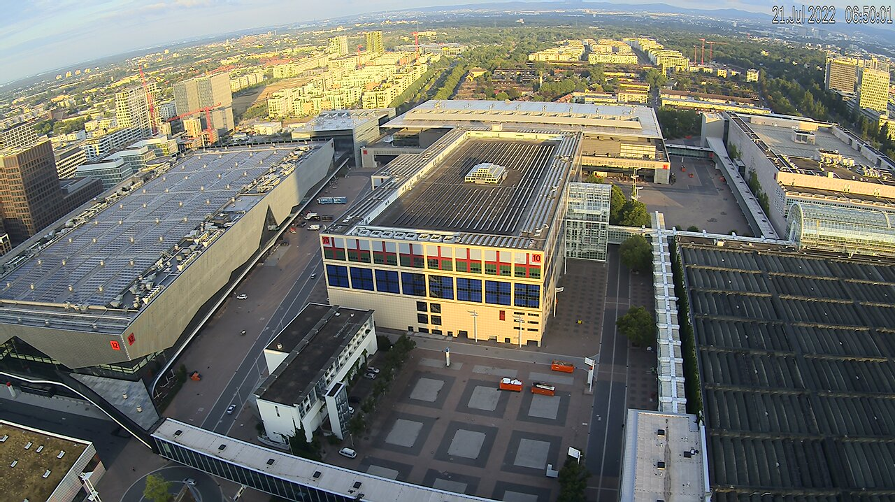 Messe Frankfurt Webcam
